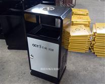不锈钢单筒垃圾箱 定做垃圾桶