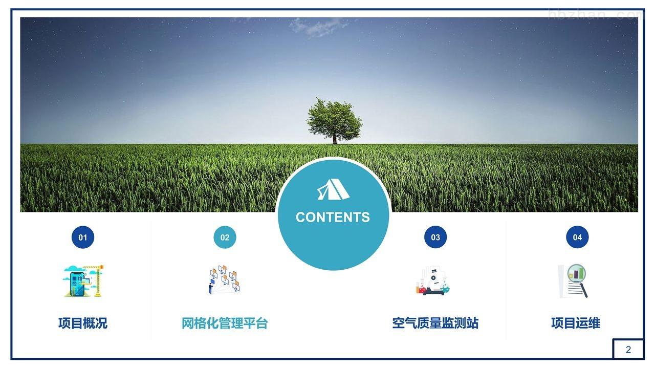 微型空气质量网格化智慧管理平台