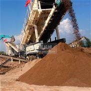 移动建筑垃圾破碎机厂家,处理工地渣土设备