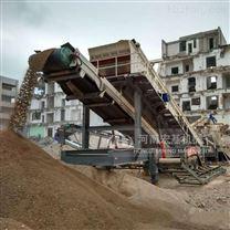 郑州建筑渣土移动破碎机一台多少钱