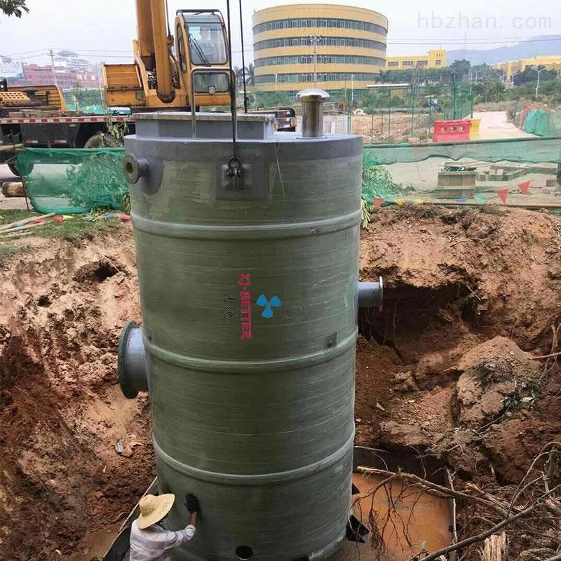 不锈钢一体化预制泵站设备