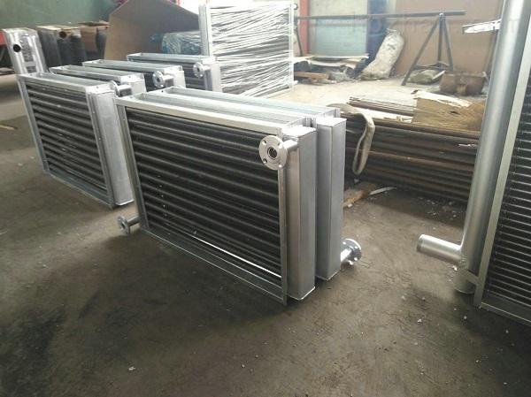 矿井空气加热器主副井热水蒸汽翅片散热器