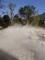 洪湖公园人造雾工程