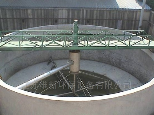 悬挂式中心传动刮泥机特点