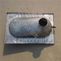 不锈钢反水弯蹲便器可弯头水封成人盖板