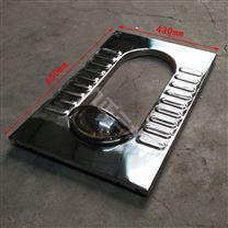 防反味公厕用不锈钢窄板蹲便 节约用材