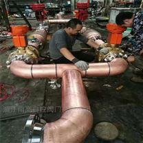 焊接式 氧气专用阻火器阀前后 FP-XT DN250