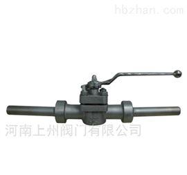 X61F-300LB美标焊接式旋塞阀