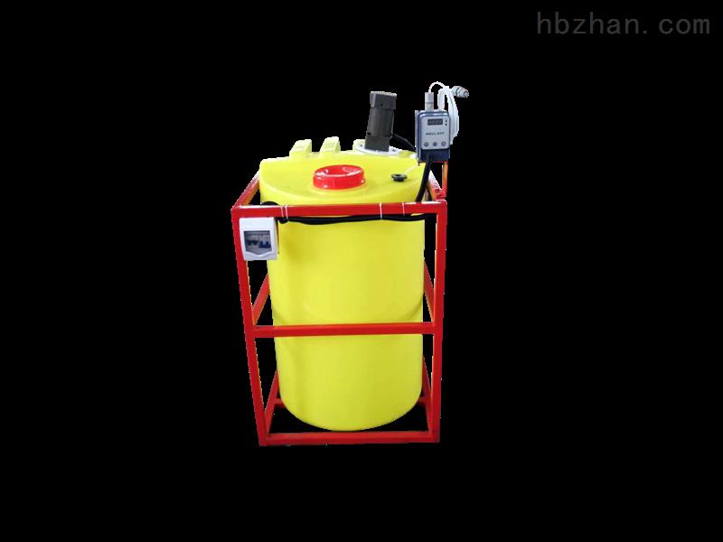 简易式PE桶加药设备/混凝剂投加装置
