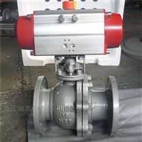 Q641F 不鏽鋼氣動球閥  DN25 32