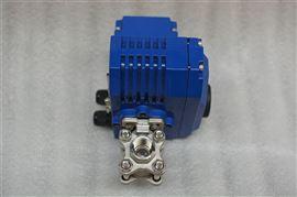 Q911F电动丝扣不锈钢球阀