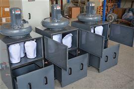 JC-1500L/1.5kw机械加工制造业配套布袋集尘器