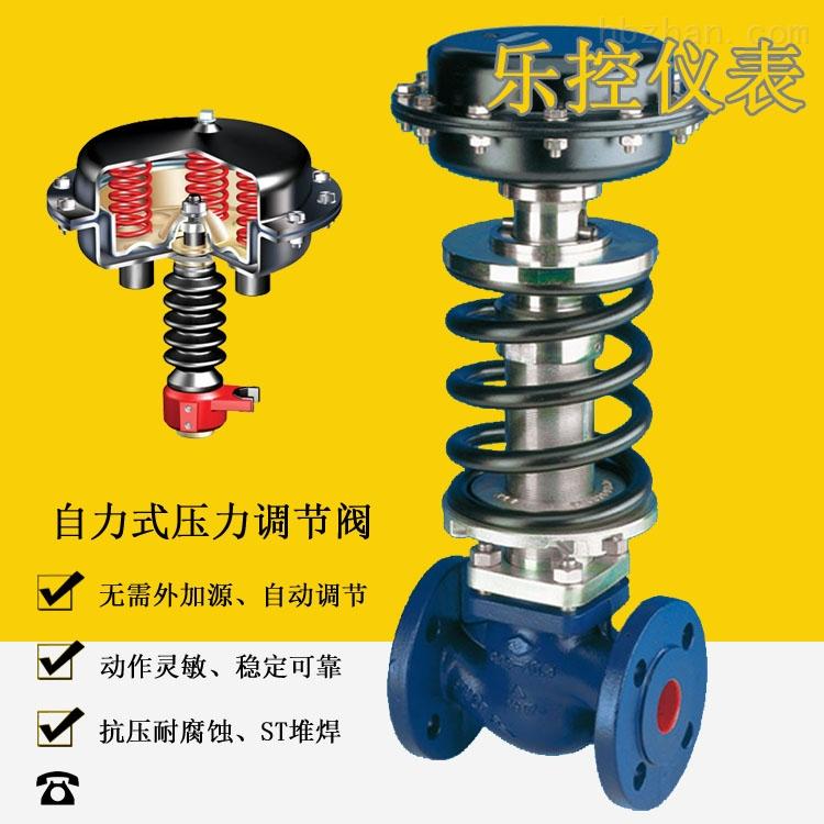 自力式蒸汽恒压阀