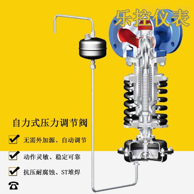 带稳压功能蒸汽减压阀
