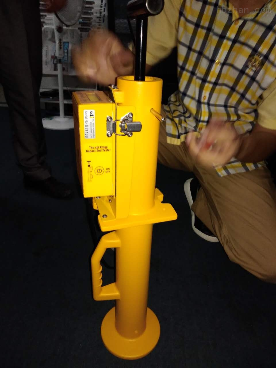 CIST/883道路地面应用硬度测试仪
