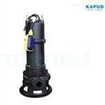 污水铰刀泵MPE75-2_双铰刀排污泵 凯普德