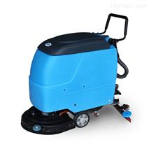 水泥地面用鼎洁全自动手推式洗地机DJ520