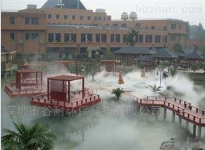 云南人工湖喷雾造景工程