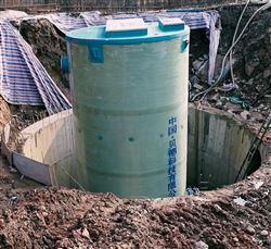 一体化不锈钢地埋式预制泵站