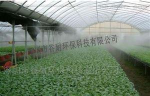 广东汕头育苗温室大棚喷雾加湿设备