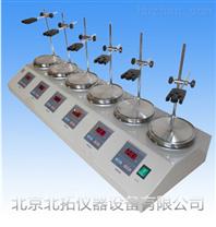 HJ-6A六聯恒溫磁力攪拌器