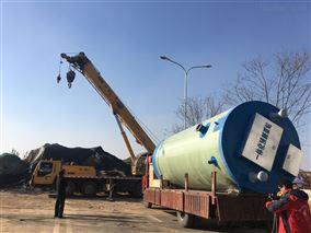 城市一体化污水废水预制泵站