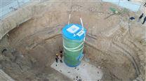 智能型预制一体化大型雨水泵站