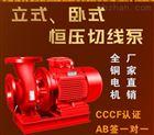卧式消防泵 消防管道泵