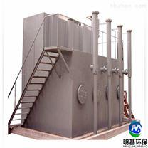 专业指导安装一体化净水设备现场实拍
