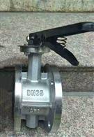 D41X-16P手柄不锈钢法兰蝶阀