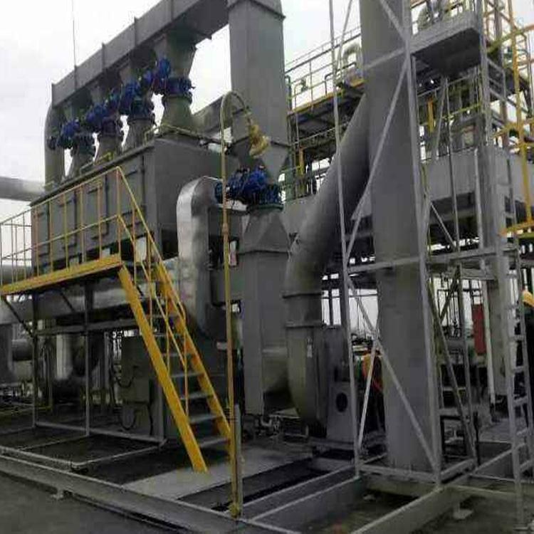 *宝应塑料塑胶废气催化燃烧净化设备