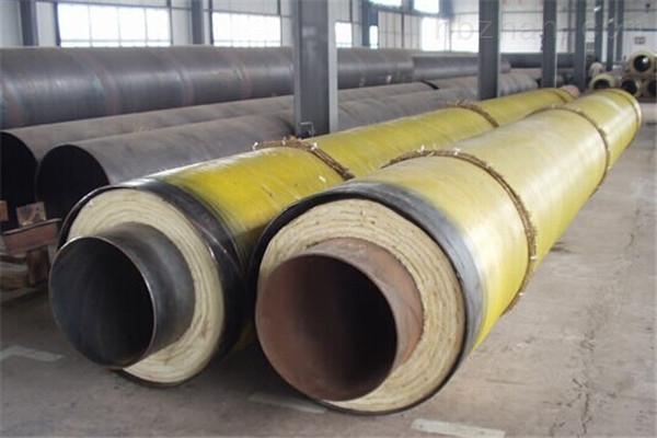桂林蒸汽钢套钢预制直埋保温管现货供应