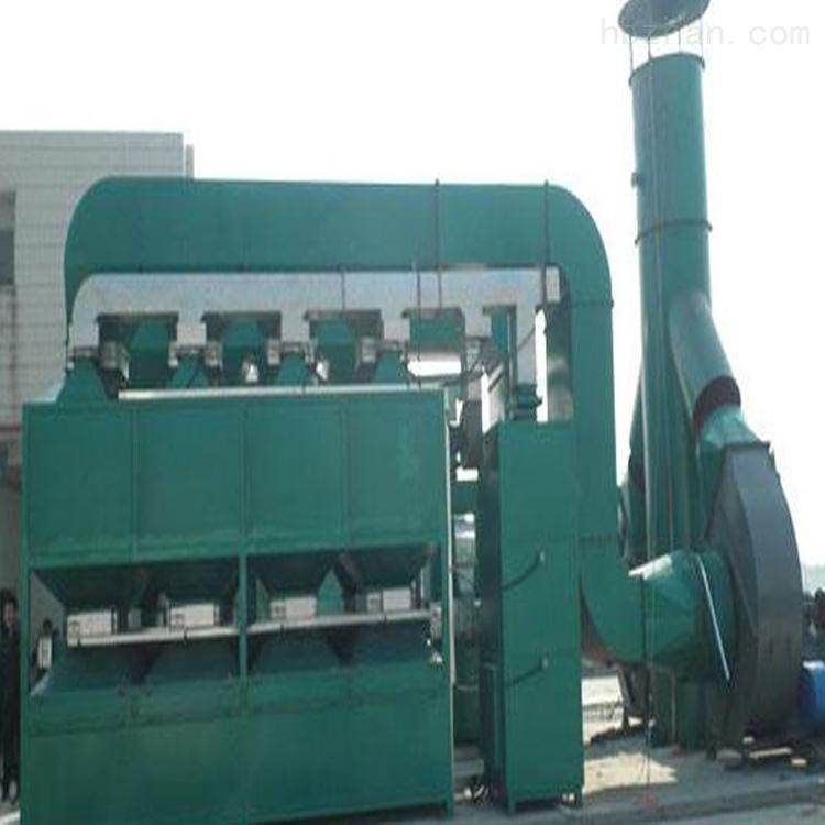 厂家直销句容油漆废气催化燃烧治理除味设备