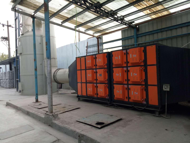 渗碳炉热处理油烟净化