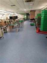 PVC塑胶地板崇左厂家批发PVC同透地板办公室