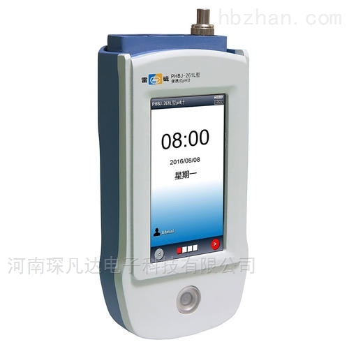 PHBJ-261L是新一代智能型便携式pH计