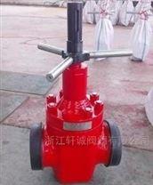 轩诚  Z543H导流孔平行式闸阀  锻钢闸阀厂家