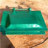 dn800玻璃钢圆拍门厂家供货