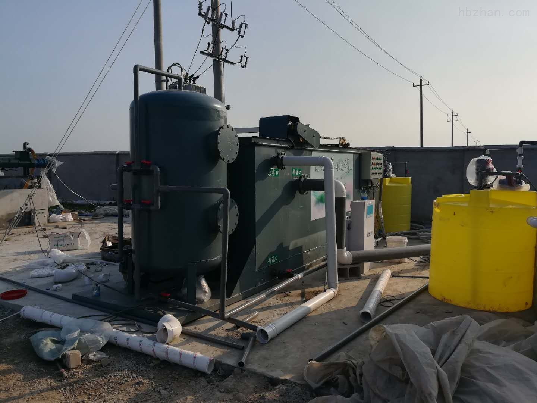 湖北孝感养猪场污水处理设备