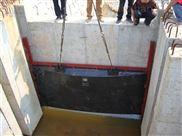 河北旺鍵1.8*1.8米雙向止水鑄鐵閘門