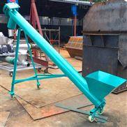 石灰渣土螺旋提升机一米价格  双轴螺旋输送机
