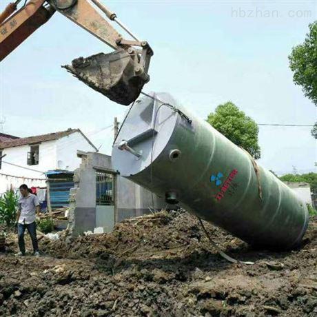 汙水提升一體化泵站