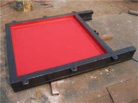 旺键机闸一体式铸铁闸门 dn2000 1.5*1.5米