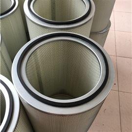 齊全325*1000PTFE覆膜除塵濾芯材質選用