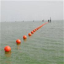 广州人工沙滩隔离带浮球厂家