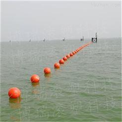 30厘米广州人工沙滩隔离带浮球厂家