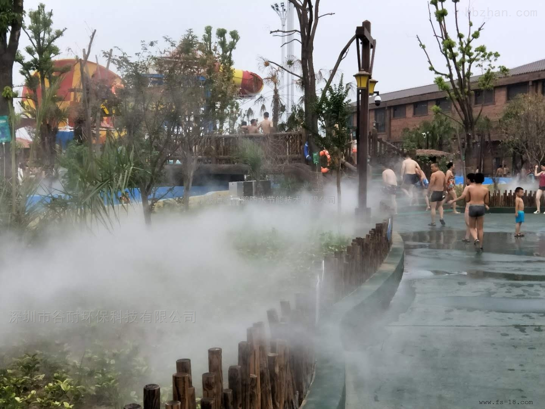 广州人造雾景观工程安装报价