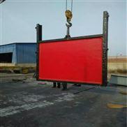 水库闸门0.8米平面钢制闸门1米