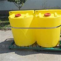 郑州市左右桶式加药装置结构说明