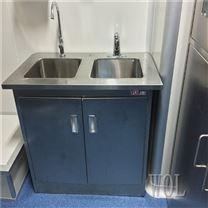 不锈钢材质洗手槽 洗手台定制